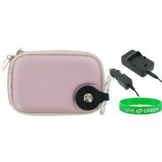 2n1 EVA Hard Shell Case (Pink) and NP BG1 / NP FG1 AC DC