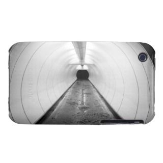 Singapore. An illuminated pedestrian tunnel in iPhone 3 Cover