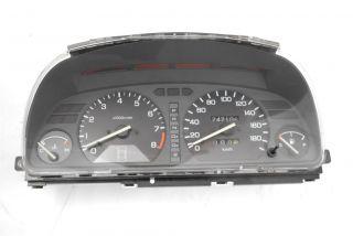 JDM Honda EF Civic Sedan Gauge Instrument Cluster SI Auto EF EF1 EF2
