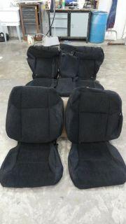 12 13 Honda CRV EX LX Factory installed OEM Cloth Seat covers Black