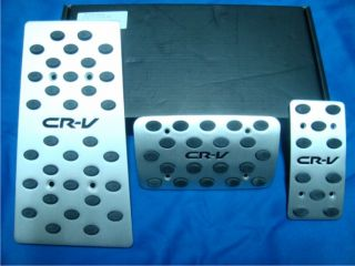 2007 2011 Honda CR V Automatic Aluminum Sport Pedal Pads Set Covers