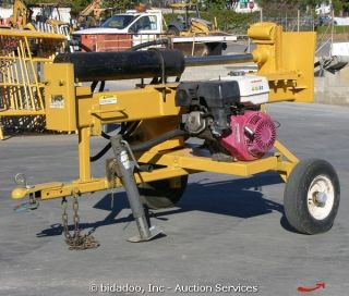 825VS 10 30 Splitting Ton Towable Log Splitter Honda Engine Portable
