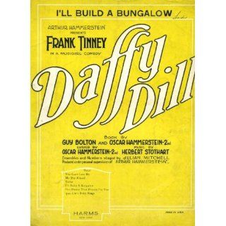 Ill Build a Bungalow Vintage 1922 Sheet Music from Arthur