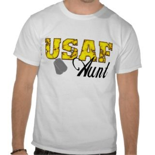 USAF Aunt Shirts