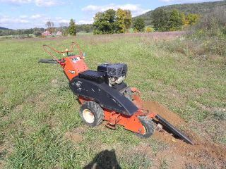 2005 Ditch Witch 1330 Honda Walk Behind Trencher Ride on 36 Bar