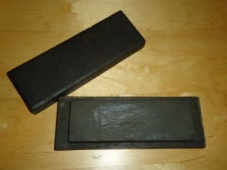 Vintage Oil Stones Acme Knife Tool Sharpening Bars Blade Razor Hone