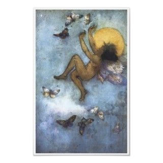 Joy, 1892, Vintage Fairy Painting Poster