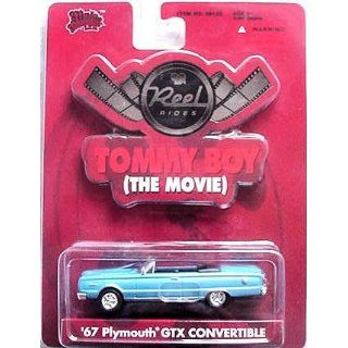 Reel Rides Tommy Boy 67 Plymouth GTX Convertible 1:64 Die