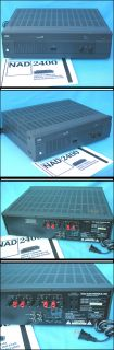 NAD 2400 Monitor Series Power Amplifier Power Envelope