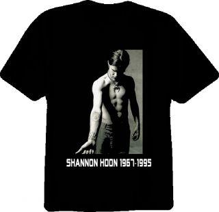 Shannon Hoon Blind Melon Rock Group Musician T Shirt