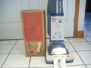 Hoover Convertible Upright Vacuum Cleaner Sweeper w Attachments Owners