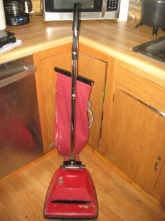 Hoover Vintage Hoover Vacuum Cleaner Retro Red Model C1099