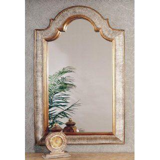 Arch Top Mirror (Silver/Gold) (45H x 29W x 1D) Home
