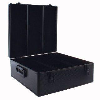 Aluminum like Hard CD Case, 720 Capacity (CD Holder Cases