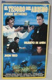 El Tesoro Del Abismo: Jorge Reynoso, Gilberto De Anda