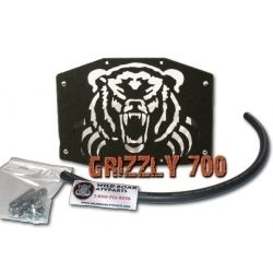 Yamaha Grizzly 700 07 Up Wild Boar Radiator Relocator