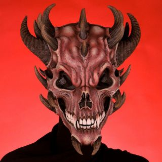 Devil Skull Mask Scary Mask Halloween Mask Evil Horror