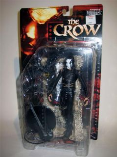 The Crow Movie Maniacs Horror Action Figure McFarlane Toys Brand New