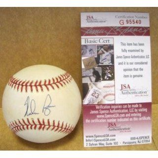 Signed Nolan Ryan Ball   Official A l W jsa   Autographed