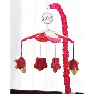 Cocalo Once Upon A Pond Girl Crib Set Lamp Mobile Art Decal Drapes