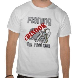 Fishing Chinook Salmon The Reel Deal Fishing T Shirt
