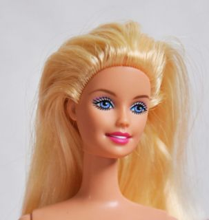 Barbie Doll 11 5 Nude Blonde TNT Hot Pink Lips 60