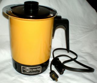 WEST BEND HOT POT 32 OZ. ELECTRIC W CORD FOOD WARMER SMALL KITCHEN