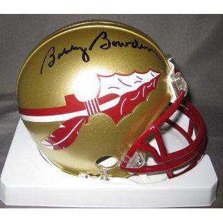 Bobby Bowden Florida State Seminoles NCAA Hand Signed Mini