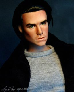 Tonner Doll Repaint Cut Your Losses Tonner Male OOAK by Laurie Leigh