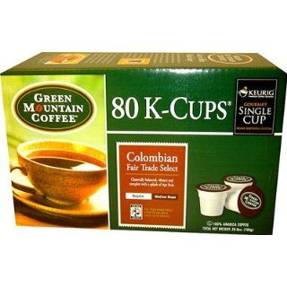 Green Mountain Colombian Coffee K Cups 80 pk.