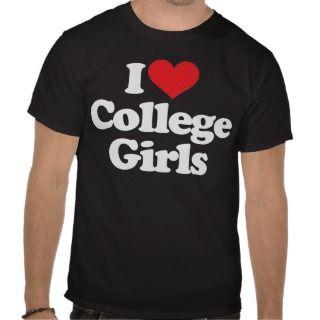 Love College Girls   White Shirt