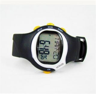 Pulse Heart Rate Monitor Calories Counter Fitness Watch Brand New