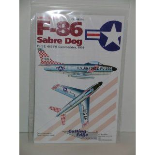 F 86 Sabre Dog Fighter Jet Part 2    Model Aircaft decals