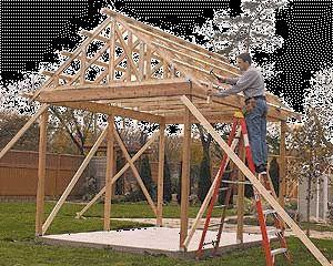 Shed Log Cabin Summer Play House Barn Garage Plans Woodwork CD