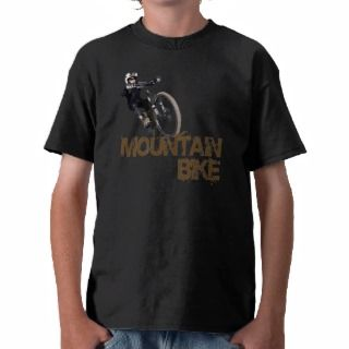 Mountain Bike T shirts, Shirts and Custom Mountain Bike Clothing
