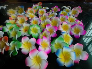 Fabulous Hawaiian foam frangipani flowers wedding party decor 4.CM