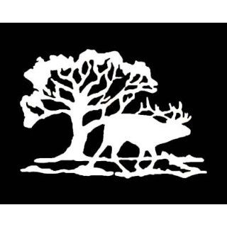 ELK GRAPHIC Vinyl Car Sticker/Decal (Hunting,Animals