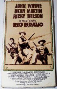 VHS Rio Bravo John Wayne Dean Martin Color