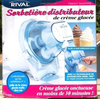 Rival GC8250 Soft Serve Ice Cream Maker