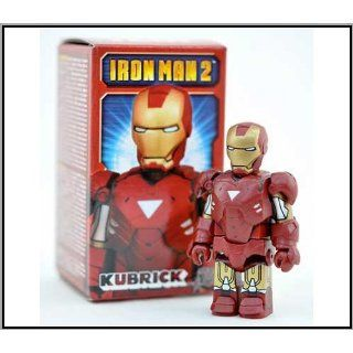 Medicom Marvel Iron Man 2 Kubrick  Mark VI Kubrick Figure