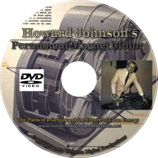 Inventor Howard Johnsons Permanent Magnet Motor Plans