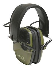 Howard Leight 1526 Impact Sport OD Green Electronic Earmuff 82nu llSou