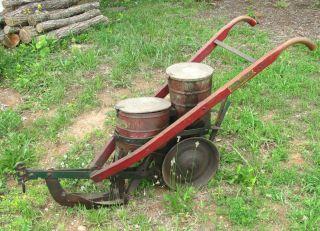 antique Cole Manufacturing Co. corn planter horse drawn plow farm
