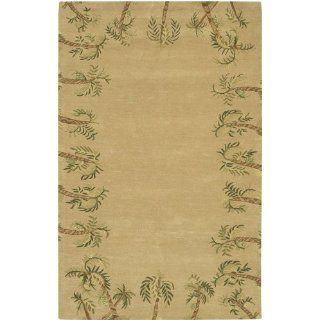 Metro Collection Hand tufted Contemporary Rug (79 x 106