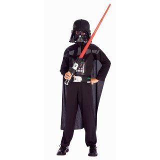 Rubies Star Wars Darth Vader Action Suit Child, Size 8 to
