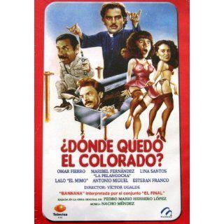 Donde Quedo El Colorado [NTSC/Region 1&4 dvd. Import