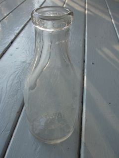 Howes Dairy Milk Bottle 1 Quart Flint MI