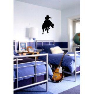 Cowboy Bull Rider   Vinyl Wall Art Decal Sticker Decor