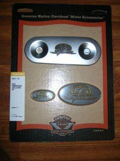 92277 07 Harley Davidson Sportster 50th Anniversary Gold Medallion