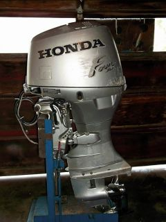 2003 Honda 40 HP 4 Stroke Outboard Water Ready Boat Engine 30 60 75 90